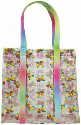 NEW JOB LOT X 12 JoJo Siwa Girls Transparent Tote Bag Casual Shoulder Handbag