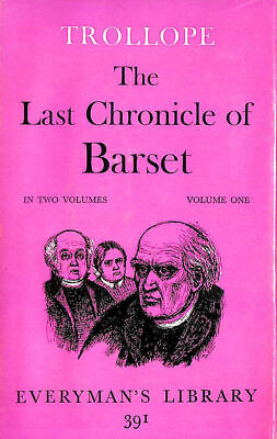The Last Chronicle Of Barset, Volume One by Anthony Trollope