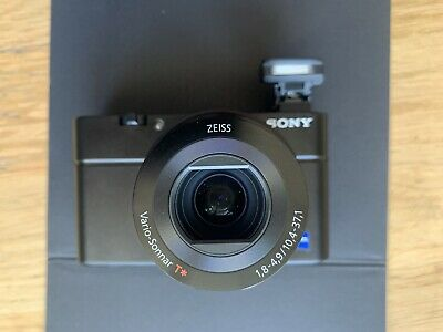 SONY Cyber-shot DSC-RX100 20 MP, 3 Zoll Display, 1 Zoll Sensor, F1.8-4.9 Zeiss