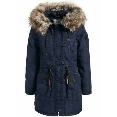 Khujo Women's Parka Hood Coat Winter Jacket Tweety Prime PZiuOXTk