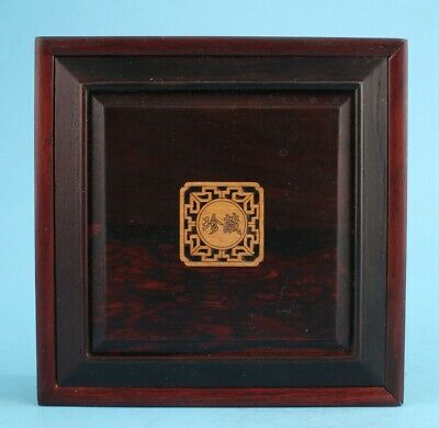 High-Grade Wood Jewelry Box Ladies Decorative Craft Collection  Gift
