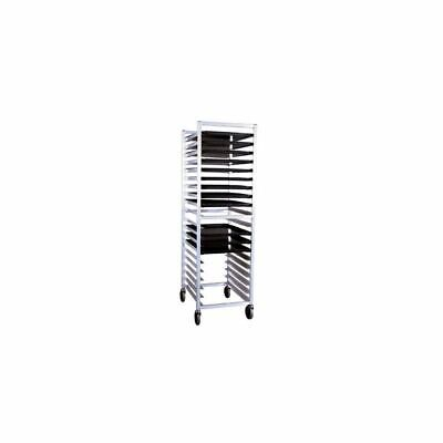 New Age Industrial 6331 Aluminum 20 Pan Rack with Angled Guides