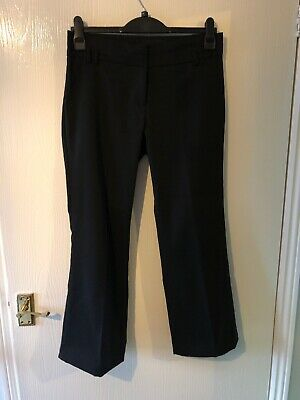 "Trousers Size uk 10.Eu 38.Straight Leg.Black. By Eve. L26"".Ladies-Women's-Girls"