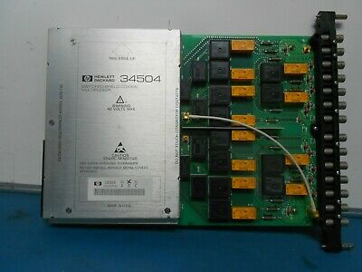 Hewlett Packard 34504B Switched-Shield Coaxial Multiplexer