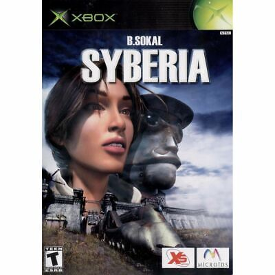 Syberia Original Xbox Game Complete *CLEAN VG