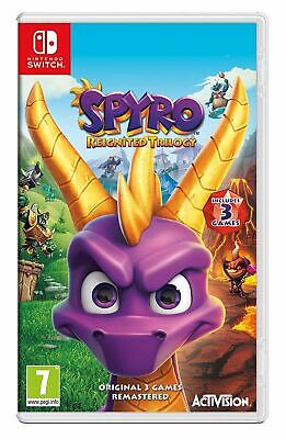 Spyro Trilogy Reignited Nintendo Switch Game