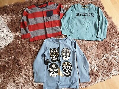 Boys Long Sleeve Tshit Bundle. Age 5-6 Years Incl Ted Baker