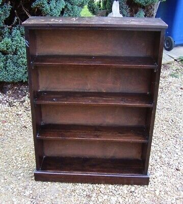vintage 1920s pine bookcase home office library bookcase