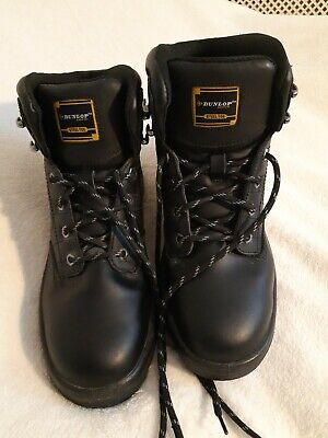 Mens Dunlop Safety Steel Toe Capped Boots Size 10 Excellent Condition