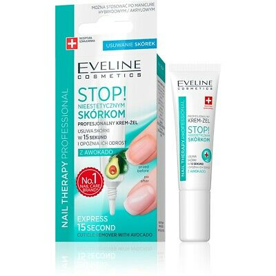 Eveline Nail Therapy Professional Soft and Healthy Cuticles with Avocado 12ml