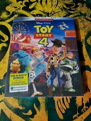 Toy Story 4 (Blu-Ray and DVD, 2019)