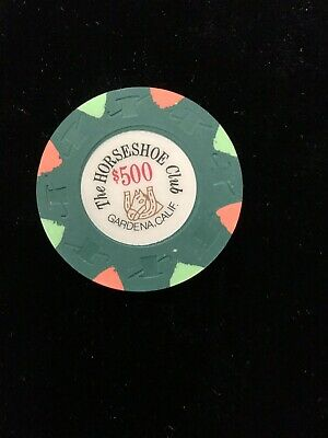 $500 Casino Chip Horseshoe Club