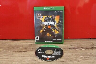 Call of Duty Black Ops 4 IV IIII (Xbox One, 2018) VERY GOOD CONDITION!
