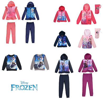 New Disney Official Licensed Frozen 2 Girl's Boy's Olaf Sweatshirts & Tracksuits