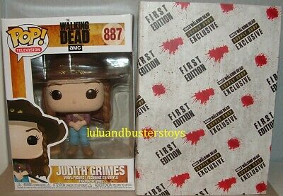Funko Pop 887 The Walking Dead JUDITH GRIMES Supply Drop Exclusive Vinyl Figure