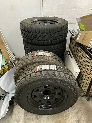 toyota hilux wheels and tyres 4x4 COOPER 265X65 R17 ST MAXX ON DYNAMIC STEEL RIM