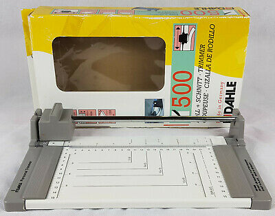 Rodahle 500 Personal Paper Trimmer, Cutter, Made In Germany, Boxed.