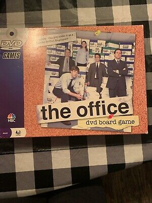 THE OFFICE DVD BOARD GAME Pressman NBC Family TV Trivia NEW SEALED NIB