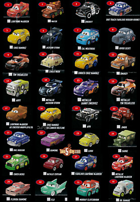Mattel Disney Pixar - CARS 3 - MINI RACERS - Wave 3 - 2018 - Choose your Single!