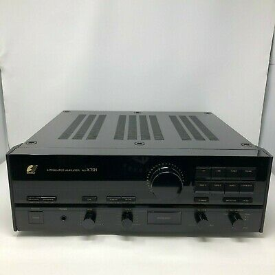 RARE Sansui AU-X701 Integrated Stereo Amplifier Receiver Vintage WORKS TESTED
