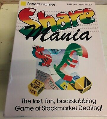 Share Mania Card Game