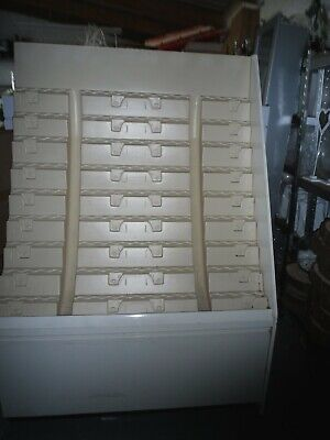 2  Retail Card Display Units With Drawer Beneath