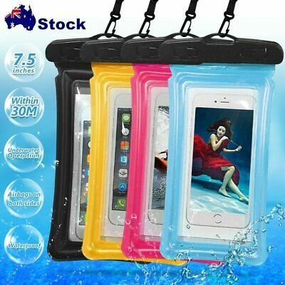 Floating Waterproof Underwater Phone Case Dry Bag Pouch Lanyard  for Samsung