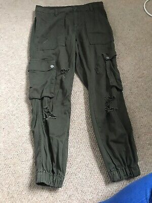 Girls New Look 915 Camo Combat Trousers (age 10 Years)