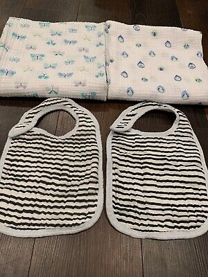 Aden + Anais Baby Boy Wraps And Bibs