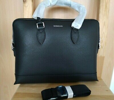 Briefcase Aktentasche Maverick & co Leder NEU