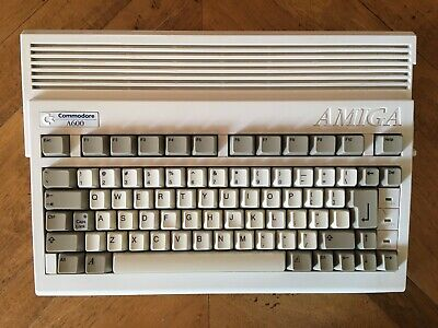 Commodore Amiga 600 (A600), 2MB, Fully serviced and recapped, 4GB CF HDD.