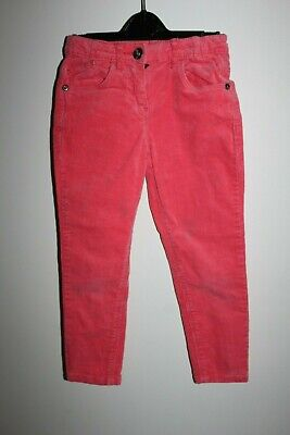 Girl Coral Velvet Trousers Stretch Jeans 4 - 5 years