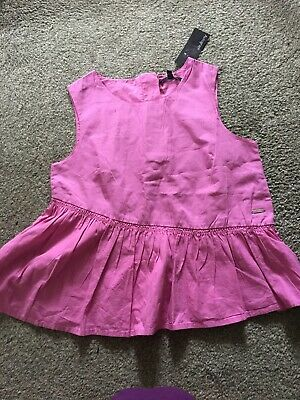 Girls Top By Marks And Spencer Age 10-11 Brand New With Tags