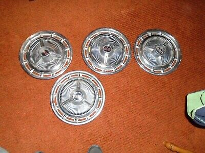 Set of (4) 1965-70 Chevy SS Wheel Covers Hub Caps , Nova, Impala, Chevelle