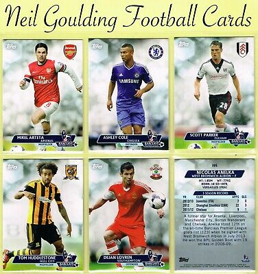 Topps PREMIER GOLD 2013 ☆ Football Cards ☆ #101 to #200