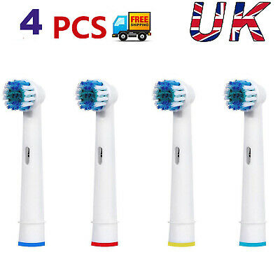 4 Pcs Electric Toothbrush Replacement Heads Compatible With Oral B Braun Models