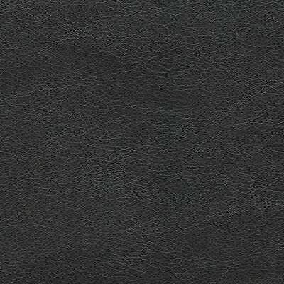 SHIPS FOLDED Vinyl Black Matte Upholstery Renegade faux leather fabric per yard