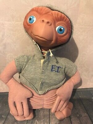 """VINTAGE 1998 APPLAUSE ET THE EXTRA TERRESTRIAL LARGE 12"""" PLUSH TOY Great"""