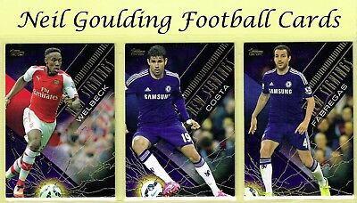 Topps PREMIER GOLD 2014 ☆ PURPLE PARALLEL NEW SIGNINGS ☆ Football Cards #/50