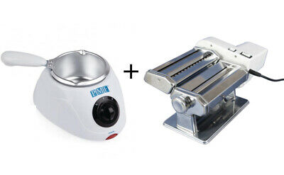 PME Electric Chocolate Melting Pot and Gumpaste Electric Roller & Strip Cutter