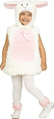 Baby Toddler Girls Boys Christmas Nativity Sheep Lamb Fancy Dress Costume Outfit