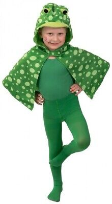 Girls Boys Spotty Frog Cape Animal Book Day Fancy Dress Costume Outfit 3-4 yrs