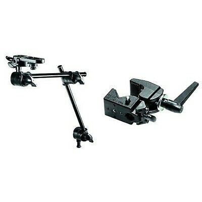 Manfrotto Single Arm 2 Section with Camera Bracket + Super Clamp without Stud