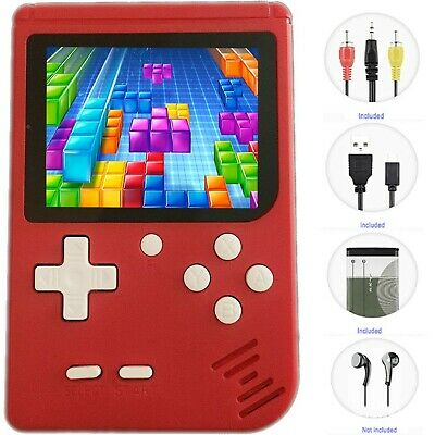 QINGSHE QS-3 Retro FC Handheld Game for Kids, Upgraded Arcade System Portable...