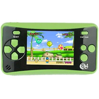 QINGSHE QS-4 Portable handheld Game Console for Children, Arcade System Game ...
