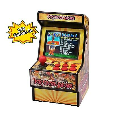 E-WOR Rechargeable Mini Arcade Game,Retro Handheld Video Game Player,Built in...