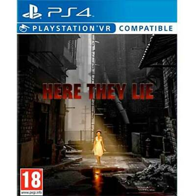 Here They Lie (PS4) New and Sealed - PS Playstation VR Compatible