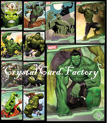 Topps Marvel Collect Card Trader Topps Showcase Hulk [Set 11 Cards]