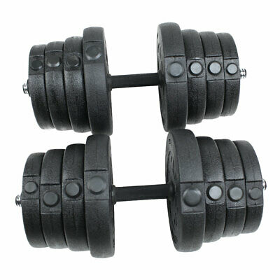 30KG Dumbbell Weights Set Vinyl Weight Set for Home&Gym Fitness Training Workout