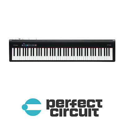 Roland FP-30-BK Digital Piano (Black) Keyboard SYNTHESIZER NEW PERFECT CIRCUIT